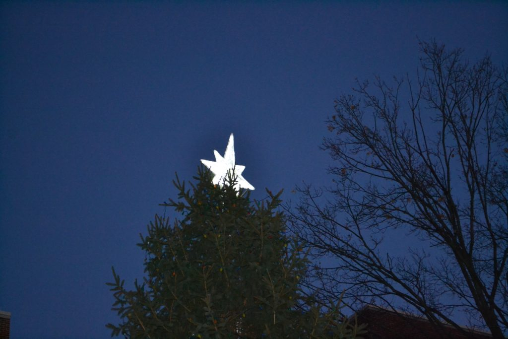 And behold, the star that they had seen at its rising preceded them, until it came and stopped over the place where the child was. (Matthew 2: 9) CT Photo/Greg Hartman)