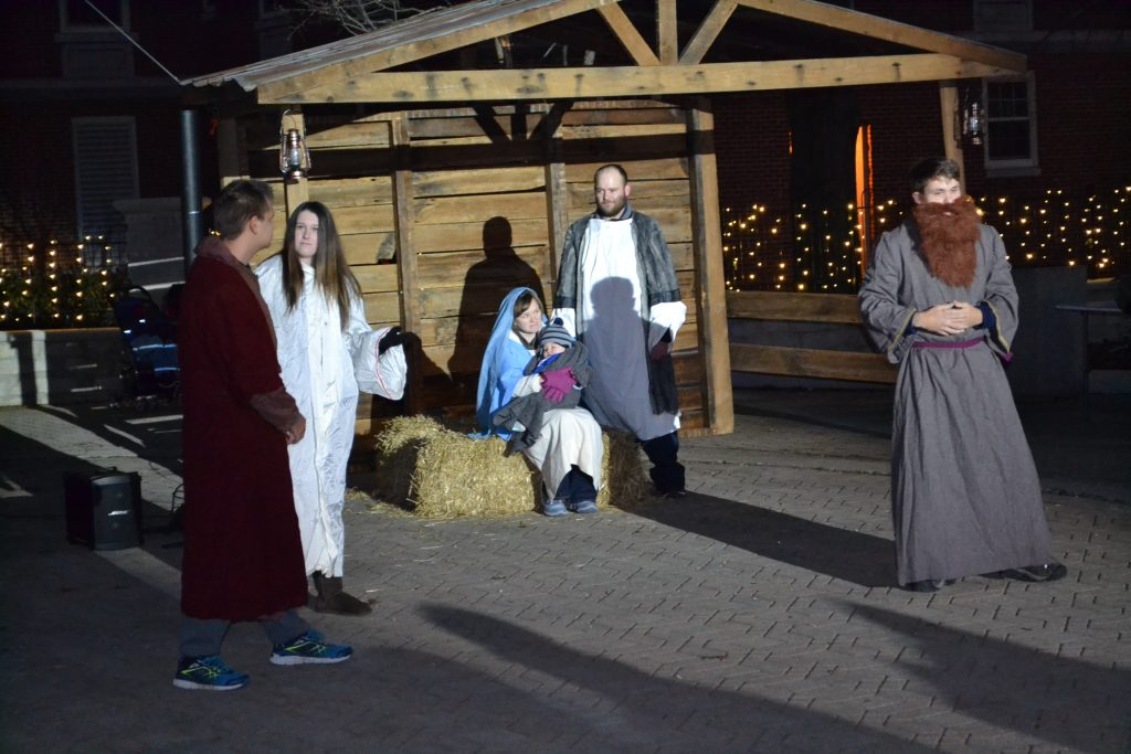 Now there were shepherds in that region living in the fields and keeping the night watch over their flock. The angel of the Lord appeared to them and the glory of the Lord shone around them, and they were struck with great fear. (Luke 2: 8-9) (CT Photo/Greg Hartman)