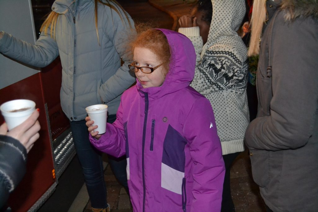 Nothing better on a cold night than hot chocolate. (CT Photo/Greg Hartman)
