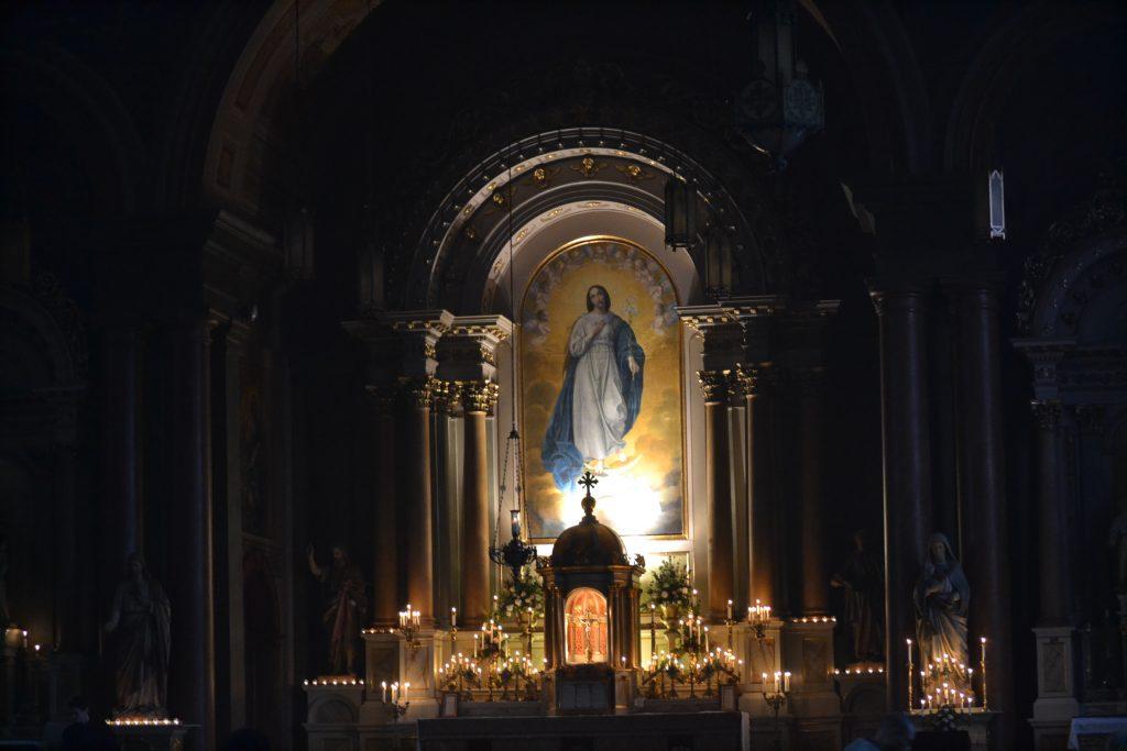Old Saint Mary Church (CT Photo/Greg Hartman)