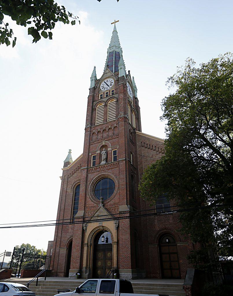 St. Joseph Church in Hamilton Saturday, Sept. 16, 2017. (CT Photo/E.L. Hubbard)