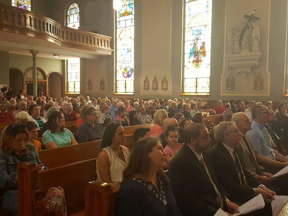 Prayer Service for Maribel Trujillo Diaz in April 2017. (File Photo)
