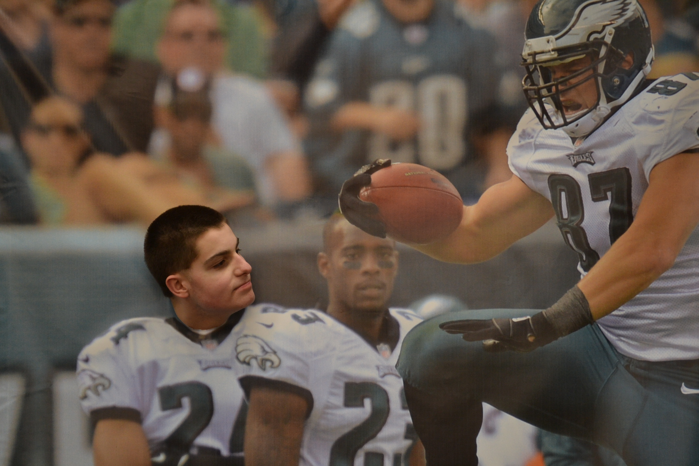 Photo Essay: Brent Celek from the Super Bowl Champion Eagles
