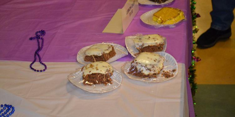 Save room for delicious deserts as they were on display at the St. Francis DeSales Fish Fry (CT Photo/Greg Hartman)