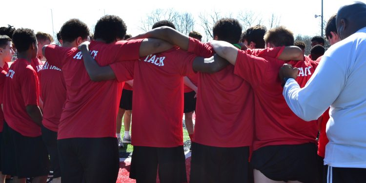 For La Salle's Football Team, it's Mind, Body, and Spirit by immersing in a day of conditioning and reflecting on the Stations of the Cross (CT Photo/Greg Hartman)