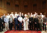 Archbishop Timothy P. Broglio with participants in the Spring 2017 Discernment Retreat for young men considering a vocation to the Catholic priesthood and military chaplaincy (Courtesy Photo)
