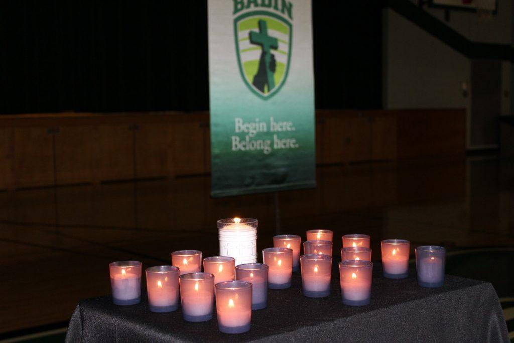 Badin High School had a prayer for the victims of gun violence (Courtesy Photo)