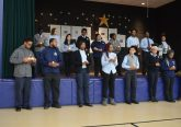 Students pray at DePaul Cristo Rey victims of gun violence and Purcell Marian student Gregory Thompson. (Courtesy Photo)