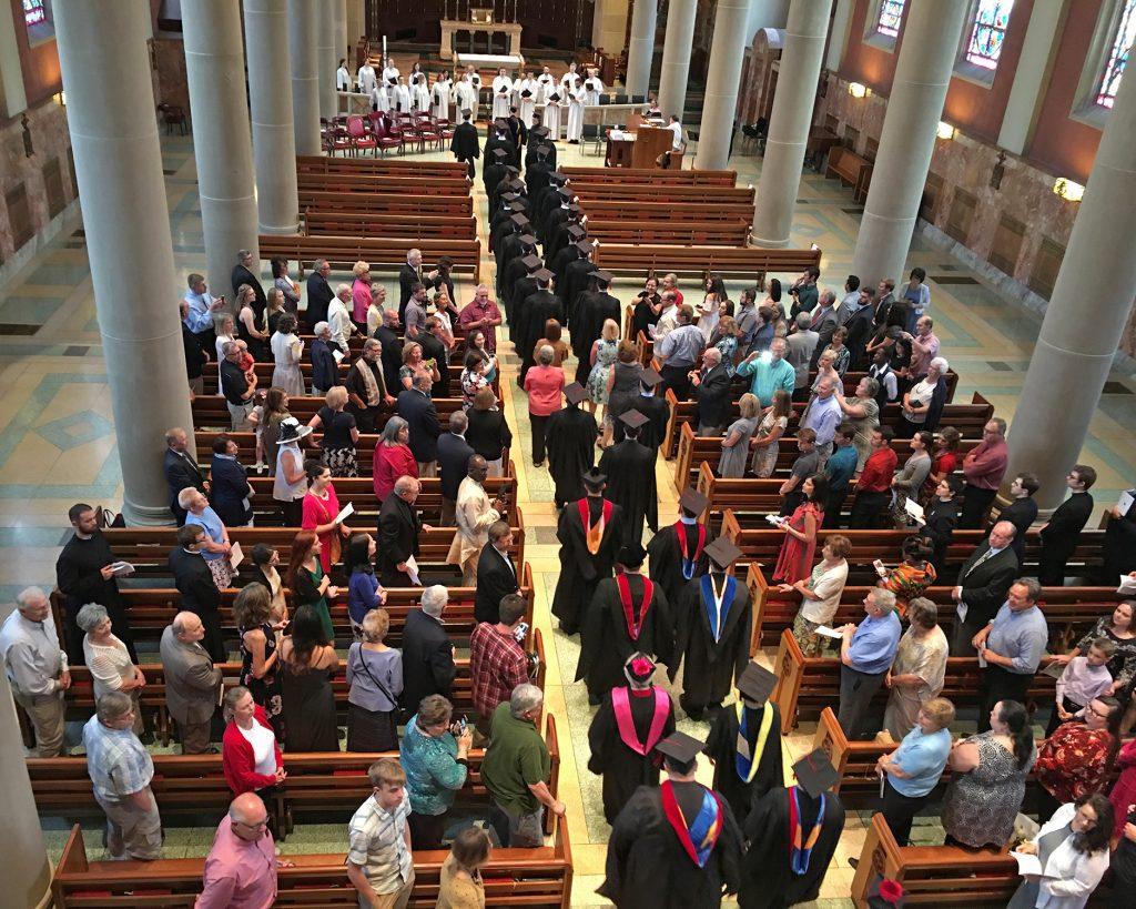2018 May Graduation at the Athenaeum (Courtesy Photo)