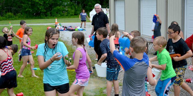 Having fun on a Friday afternoon at St Bernadette (CT Photo/Greg Hartman)