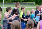 It was the boys turn to sing! (CT Photo/Greg Hartman)