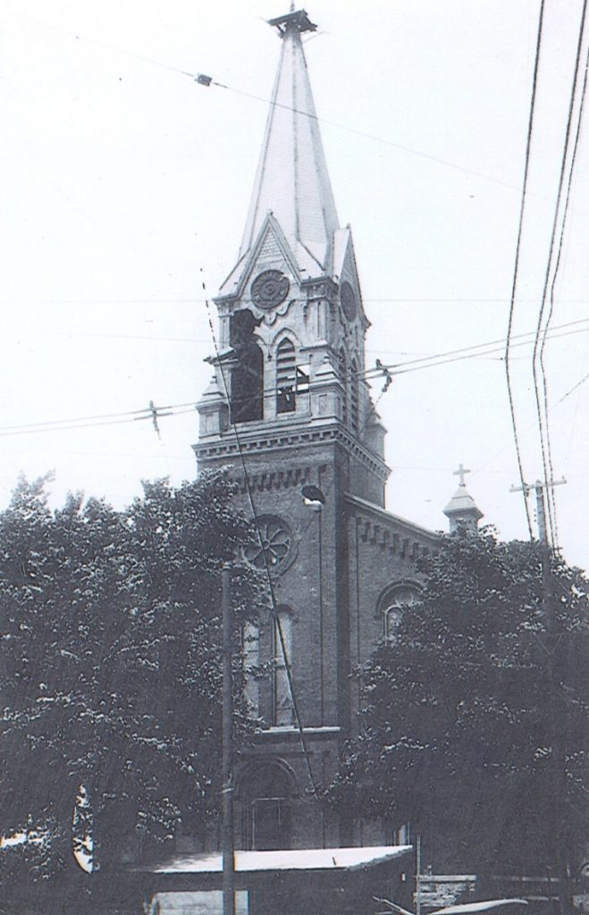 St Bernard Church, Springfield, before 1924 (Courtesy Photo)