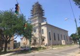St. Bernard Church, Springfield, undergoing renovation. (Courtesy Photo)