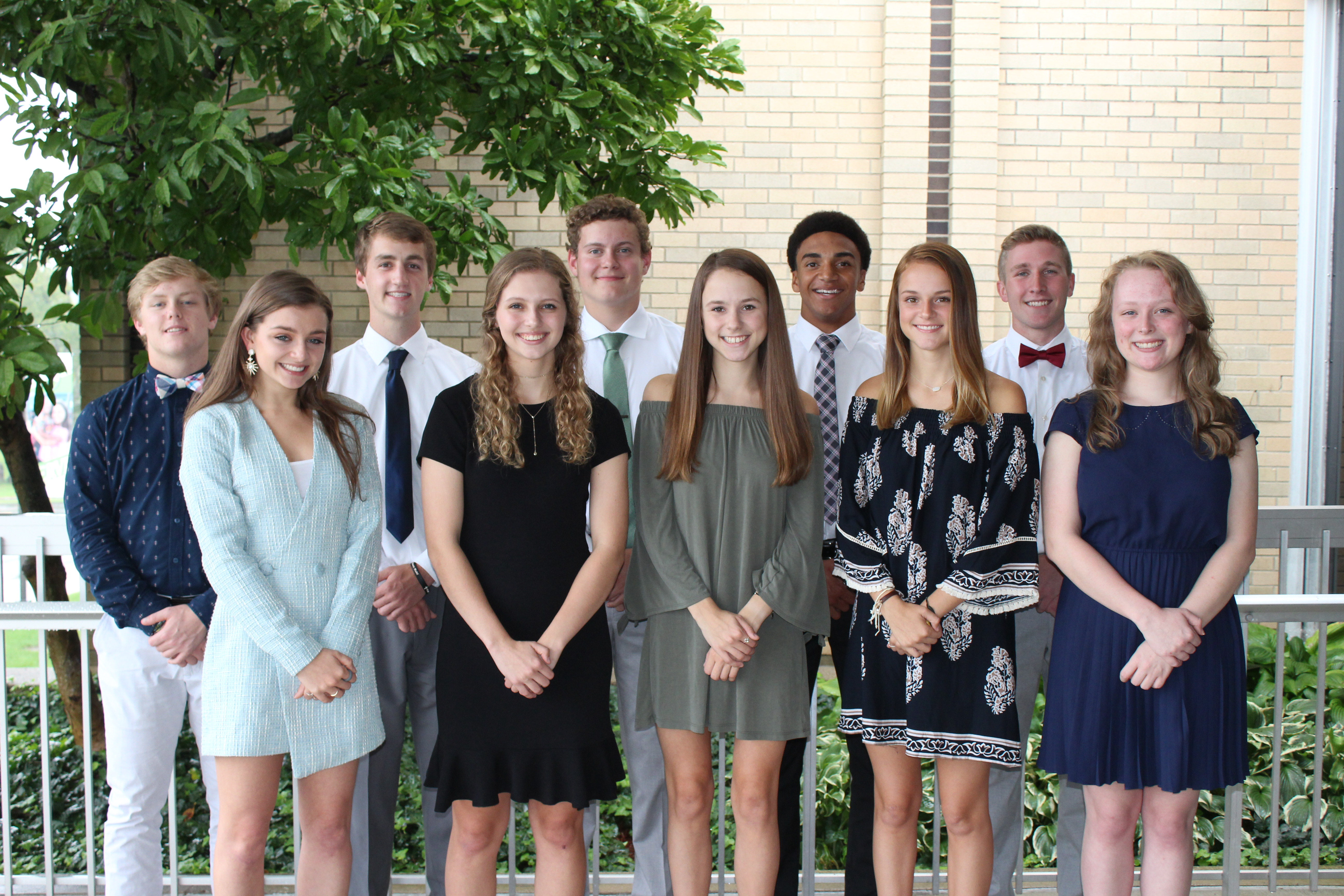A Picture Says A Thousand Words Badin Homecoming Court Catholic