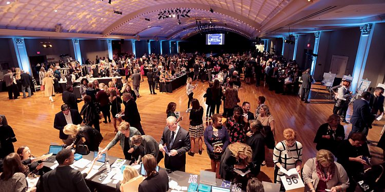 RetroFittings 2018, a St. Vincent de Paul fundraising event, was held at Music Hall in Cincinnati Thursday, Oct. 18, 2018. (CT Photo/E.L. Hubbard)