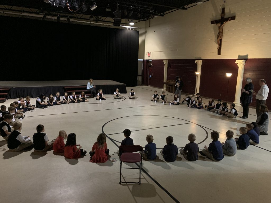 Royalmont Academy Rosary for Life (Courtesy Photo)