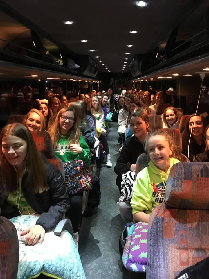 Students from Seton High School leaving for Washington DC (Courtesy Photo)