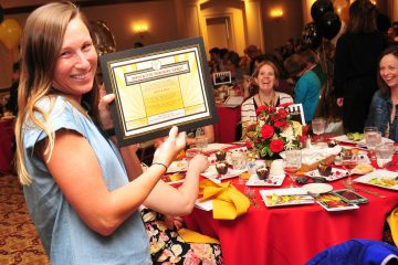 Innovation Teaching grant is awarded to Jessica Reed, Incarnation school (CT Photo/Jeff Unroe)