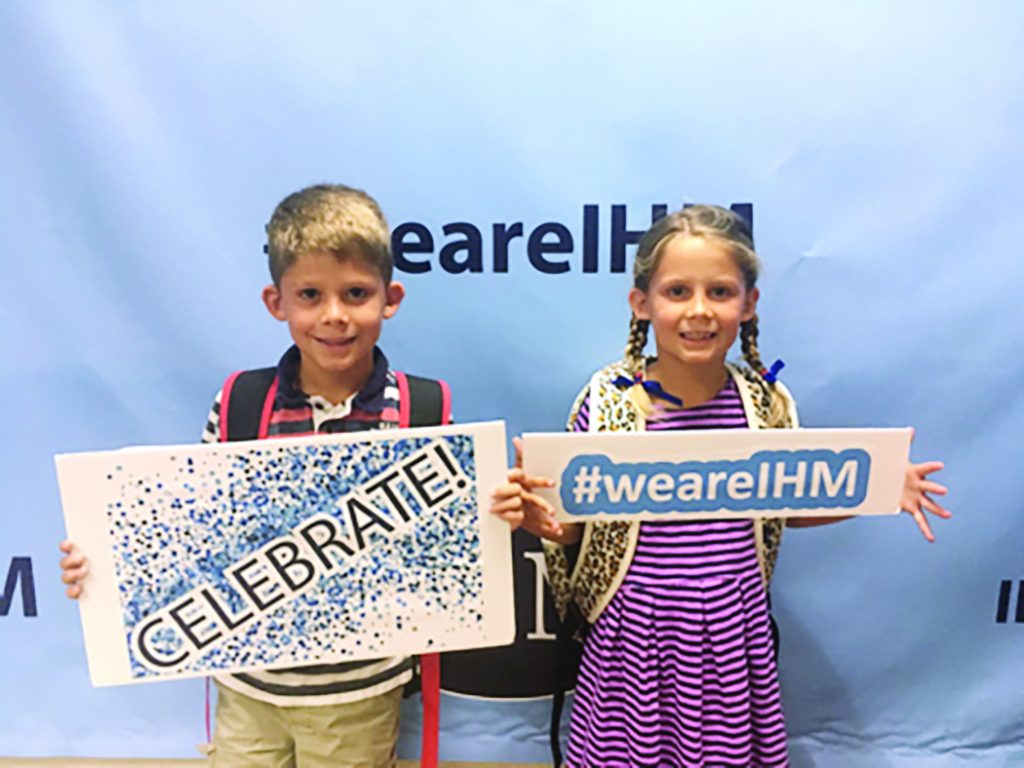 The hallways are once again filled with the sounds of students and teachers as the 2019-20 school year started on Aug. 15 for Immaculate Heart of Mary School. Crusaders returned to campus in grades preschool through 8th with enrollment on the rise!