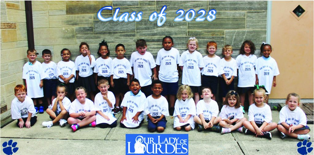 Our Lady of Lordes School students are excited to be back at school!
