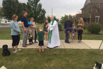 St. Francis Parish in Cranberry held a celebration in honor of their patron saint. Afterwards pastor Father Bill O'Donnell, CPPS, blessed pets of parishioners in front of St. Francis Church.