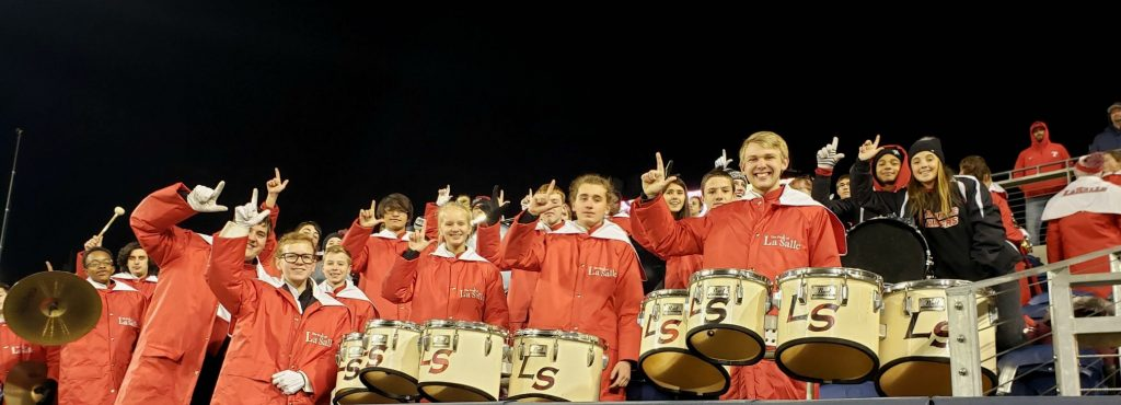 The Lancer Marching Band in Canton!