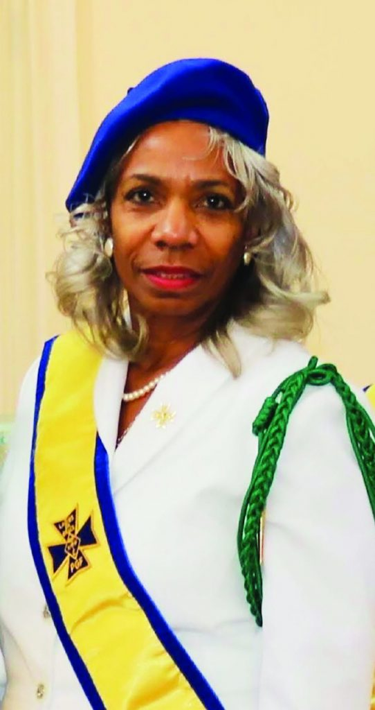 Gracious Lady Sharon Hairston, parishioner at St. Benedict the Moor Parish in Dayton, was recently awarded the Knights of Peter Claver Ladies Auxiliary 4th Degree Good Deeds Award at the organization's 2019 annual 4th degree conclave. The Good Deeds Award recognizes meritorious service to the church, community and Catholic leadership.