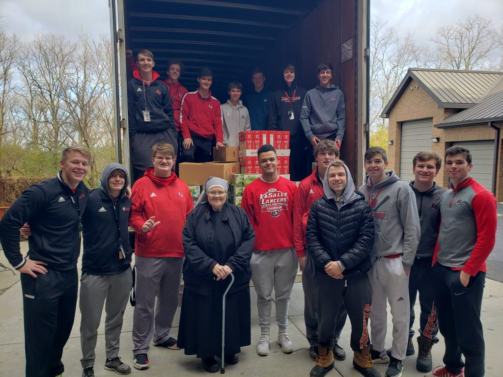 Many thanks to all who supported La Salle High School's #CannedFoodDrive! They brought in nearly 35,000 pounds of nonperishable food items to help those less fortunate.