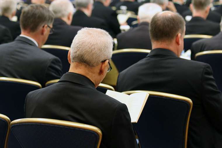 Bishops at the USCCB General Assembly in Baltimore, June 2019. Credit: Kate Veik/CNA