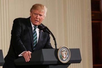 President Donald Trump. Credit: Nicole S Glass/Shutterstock