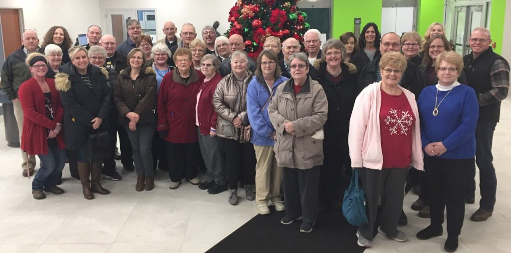 Archdiocese 1. Petersburg Parish members enjoyed a bustrip to Dayton, attending Mass at St. MaryChurch and visiting the University of Dayton Library Nativity Exhibit.