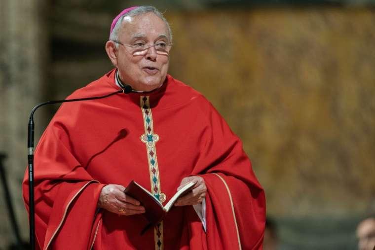 ovember 27, 2019: Archbishop Charles Chaput in Rome for his final ad limina visit as Archbishop of Philadelphia. Credit: Daniel Ibáñez/CNA
