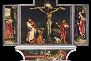 Matthias Grünewald's Isenheim Crucifixion (1512-16)