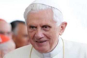Pope Emeritus Benedict XVI. Credit: © Mazur / www.thepapalvisit.org.uk