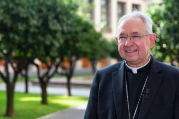 Archbishop Jose Gomez of Los Angeles at the Pontifical North American College in Rome, Sept. 16, 2019. Credit: Daniel Ibanez/CNA.