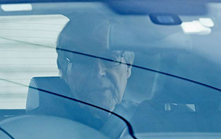 Cardinal George Pell leaves Barwon Prison on April 07, 2020 in Geelong, Australia. Credit: Quinn Rooney/Getty Images