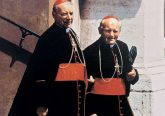 Cardinal Stefan Wyszynski and St. John Paul II, then Cardinal Karol Wojtyla. Photo Courtesy of Adam Bujak/Bialy Kruk.