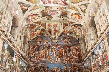 A view of the Vatican's Sistine Chapel. Credit: Bohumil Petrik/CNA.